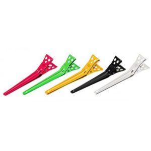 Зажимы Y.S.Park Clips-M, 6 шт, разноцветные