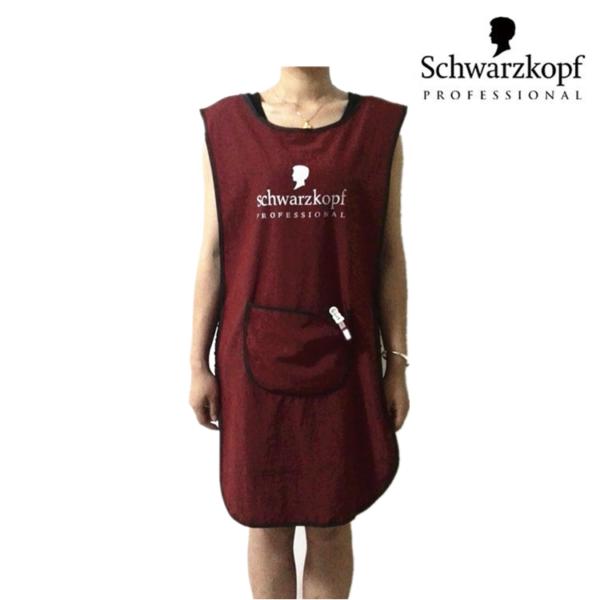 Фартук Schwarzkopf красный и черный 24399db99983e