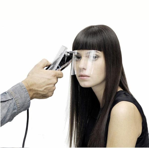 Защитный экран для лица, парикмахер