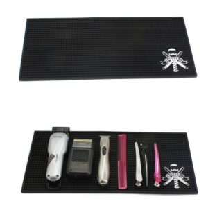 Прорезиненный коврик для инструментов парикмахера