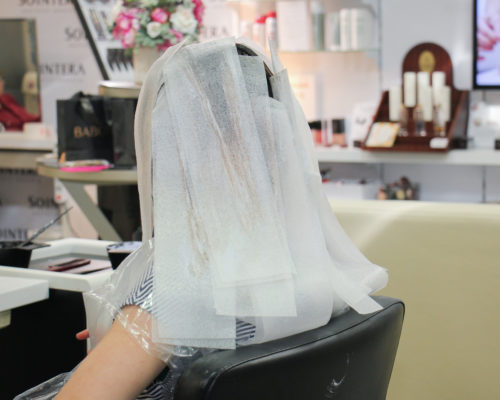 Термобумага для окрашивания волос1