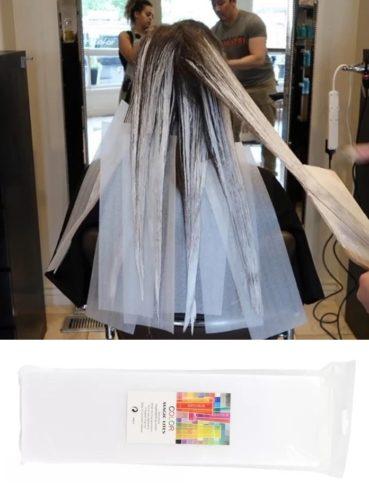 Термобумага для окрашивания волос