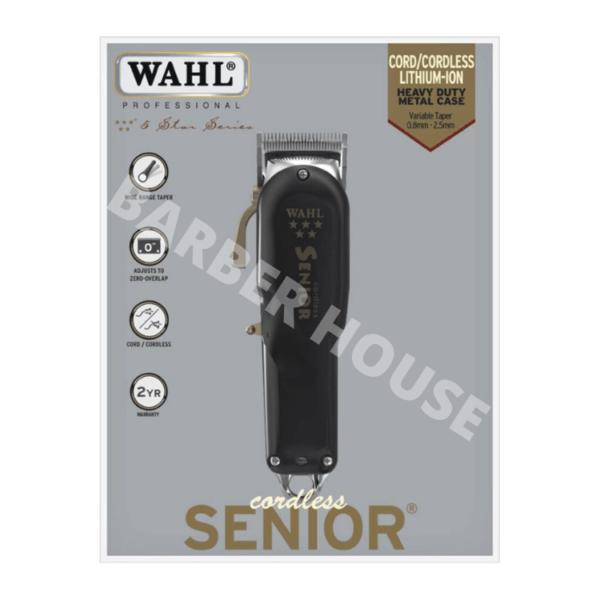 Машинка для стрижка волос Wahl Seniour Cordless 5 Star Series
