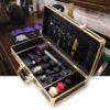 Кейс - чемодан для инструментов Барбера - Парикмахера Gold 10454