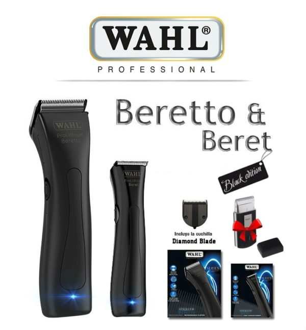 WAHL Black Edition ( Beretto & Beret Stealth )