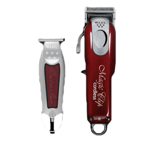 Комплект Wahl 5 Star Wahl Magic Cliper Cordless + Wahl Detailer Wide