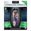 Аккумуляторно-сетевая машинка для стрижки волос Andis Cordless Uspro Li Sugar Skull LCL 73090 10209