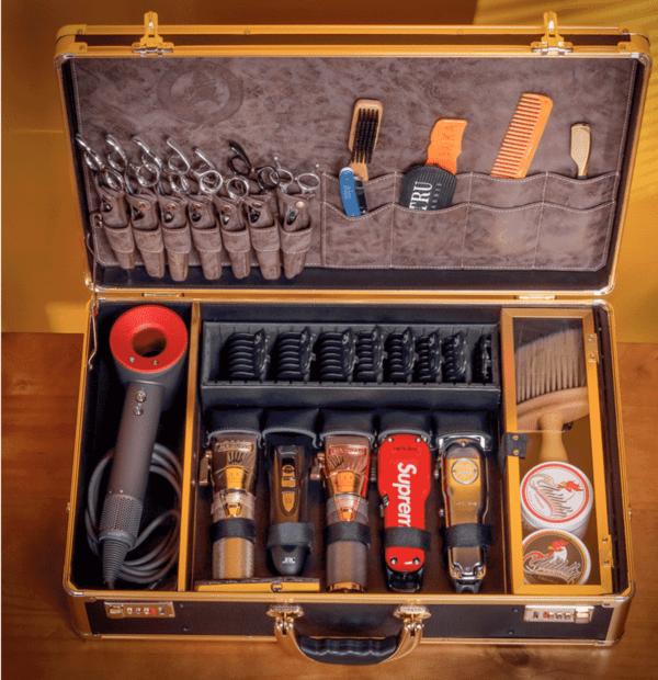 Большой Кейс для инструментов парикмахер - барбера