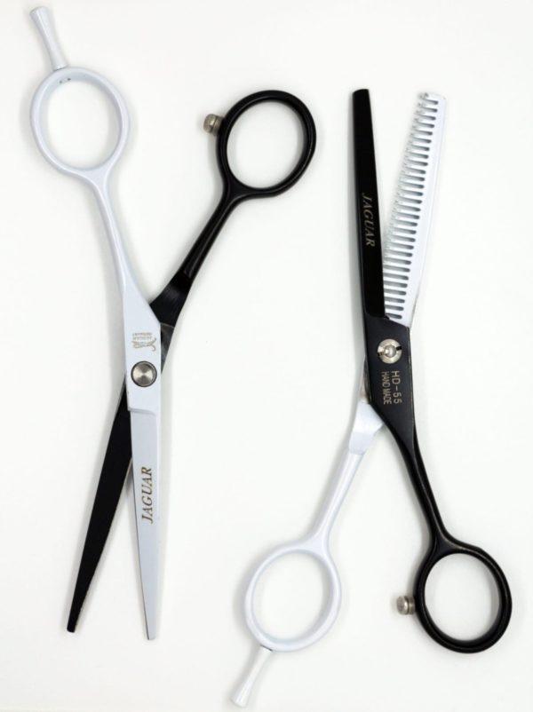 Профессиональный набор ножниц Jaguar Black-White 5.5 🇩🇪