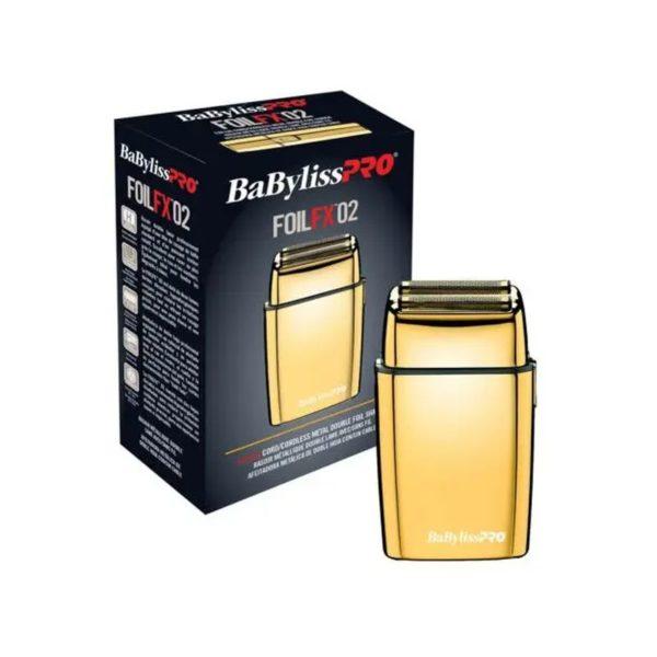 Шейвер BaByliss PRO Foil FX 02 Gold Shaver ✅ В наличии